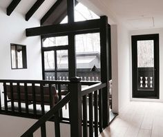 Hotel Hakuba: The Ultimate in Japandi Style - Remodelista White Washed Floors, Japanese Interior Design, Danish Design Store, Design Hotel, Traditional House, Black House, Interior Architecture, Ski, Home Decor