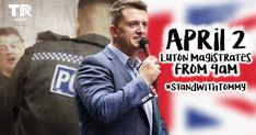Tommy received a call from Detective Sergeant Hancock on Wednesday. Pro-Paedophile Policing - Or Just Plain Negligence? The state of UK policing today. Tommy Robinson, Neck Injury, Modus Operandi, Middle Aged Man, Public Information, In His Time, Alex Jones, Thought Process, This Man