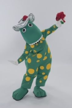 The Wiggles Dorothy the Dinosaur - Bing The Wiggles, Bing Video, Dinosaur Stuffed Animal, Toys, Animals, Activity Toys, Animales, Animaux, Animal
