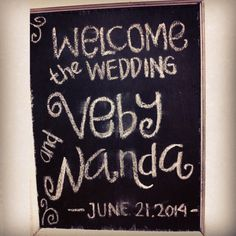 welcome to #alendawedding2014 :)