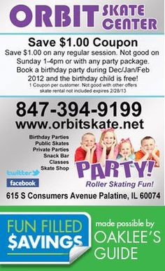 Let 'em burn off some of that energy and skate the day away! Skate Center, Local Coupons, Burns, Children, Kids, Birthday, Party, Young Children, Young Children