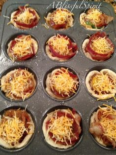 Bacon and Egg Breakfast Muffin Cups | A Blissful Spirit #Christmas #thanksgiving #Holiday #quote