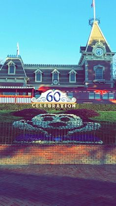 The entrance to Disney
