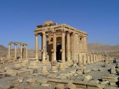 UNESCO is calling ISIS's reported destruction of the Temple of Baalshamin—an ancient treasure in the historic city of Palmyra—a war crime.  Atlantic 24Aug15