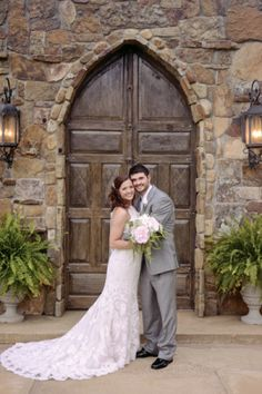 Caitlin Galloway & Blake Pennington  April 26, 2015 | Castle on the Lake | Jacksonville, Texas  Photography by Lauren Ashley Photography  Music/DJ: Boogie Butt Productions  Bridal boutique: Brides and Belles of Tyler