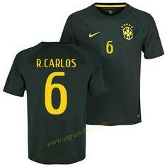 Maillot football Brésil 2014 Coupe Du Monde R.Carlos 3eme