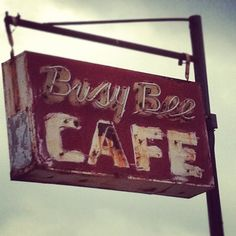 Loved the old busy bee in downtown Hugo, Oklahoma ... Love my home!