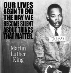Martin Luther King - inspirational
