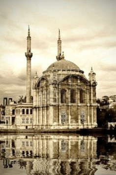 Moschea a Ortakoy Bosphorus a Istanbul