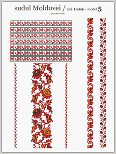 ie cusuta pe panza matador - Google Search Cross Stitch Borders, Cross Stitching, Cross Stitch Patterns, Embroidery Motifs, Cross Stitch Embroidery, Bead Loom Patterns, Beading Patterns, Palestinian Embroidery, Embroidery On Clothes