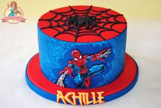 Image result for spiderman birthday cakes near me
