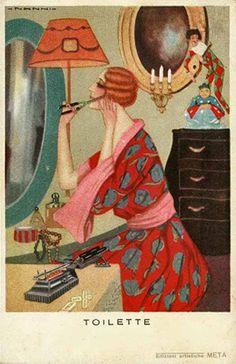 Art Deco Postcard