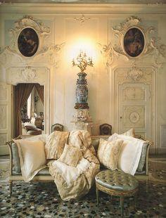 """""""Rococo Revisited"""" (ad campaign Frette)"""