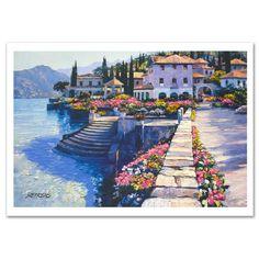 """""""Steps of Villa Carlotta""""  - Howard Behrens"""