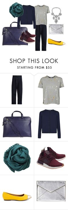 """two in one_2"" by yarkayaksu on Polyvore featuring мода, Vivienne Westwood Anglomania, RED Valentino, Lodis, Burberry, Bajra, adidas Originals, Restricted и Rebecca Minkoff"