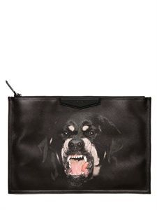 6a8d261813a2 GIVENCHY - DOBERMAN PRINTED CANVAS POUCH - LUISAVIAROMA - LUXURY SHOPPING  WORLDWIDE SHIPPING - FLORENCE Luxury