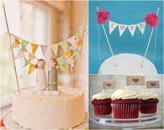cake bunting decor