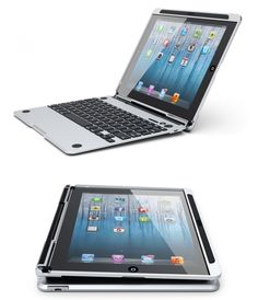 Cruxskunk Keyboard Case Turns Your iPad Into a Laptop