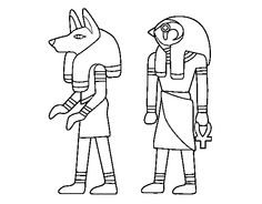 Coloring Crew Egyptian pages to color online - Coloringcrew.com