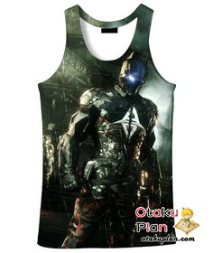 Batman Batman Arkham Knight Cosplay Costume Hoodie - Batman 3D Hoodies And Clothing