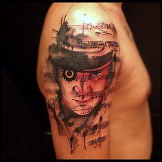 amazing Clockwork Orange tattoo @victormontaghini |Webstagram