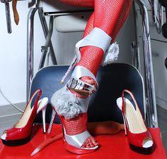 Lady Alina - Studio Revolution: Vorschau - Lady Alina's Neue Bilder Studios, Pumps, Lady, Outfit, Revolution, Stiletto Heels, Shoes, Fashion, Dominatrix