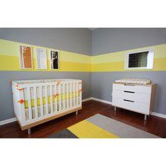 Baby Room Ideas | Gender Neutral Contemporary Baby Nursery | babydeco... via Polyvore