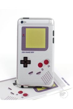 Gameboy iPod Touch Skin