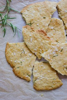 Rosemary and Sea Salt Flatbread by simpleprovisions, via Flickr