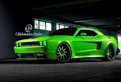 """2012 Dodge Challenger Custom at SEMA. Here is another awesome custom car by the """"Ultimate Auto"""" shop based in Orlando, Florida brought to you by Hot Cars 2012 Dodge Challenger Srt8, Dodge Srt, Custom Wheels, Custom Cars, Wide Body, Car Shop, Chevy Camaro, Hot Cars, Mopar"""