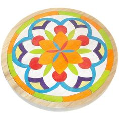 Wooden Mandala Toy on etsy for $35.00