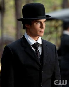 """1912""--Ian Somerhalder as Damon on THE VAMPIRE DIARIES on The CW. Photo: Bob Mahoney/The CW ©2012 The CW Network.  All Rights Reserved."