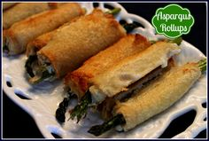 Sweet Tea and Cornbread: Asparagus Rollups!