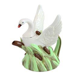 Summer Swan teapot