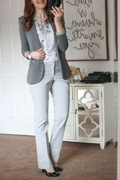 Harper Bootcut Pant from Liverpool & Terry Solid French Terry Blazer from Tart - March Stitch Fix love the whole ensemble