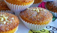 Portuguese Almond Cupcakes (Queijadas de Amêndoa)
