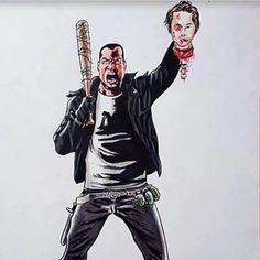 Rick Negan Comics