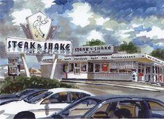 Inside St. Louis - Steak n Shake