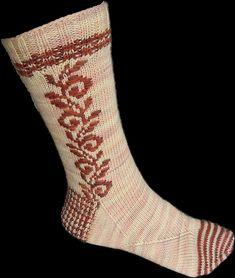 Ravelry: Roosimine pattern by Caoua Coffee: Round Sock Madness 2012 Knitting Stitches, Knitting Socks, Knitting Patterns Free, Hand Knitting, Free Pattern, Knitting Tutorials, Knitting Machine, Vintage Knitting, Stitch Patterns