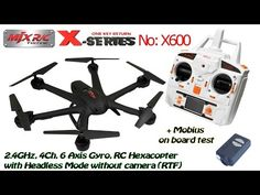 MJX X600 2.4GHz, 4Ch, 6 Axis Gyro, RC Hexacopter with Headless, without camera (RTF) + Mobius - Click Here for more info >>> http://topratedquadcopters.com/mjx-x600-2-4ghz-4ch-6-axis-gyro-rc-hexacopter-with-headless-without-camera-rtf-mobius/ - #quadcopters #drones #dronesforsale #racingdrones #aerialdrones #popular #like #followme #topratedquadcopters