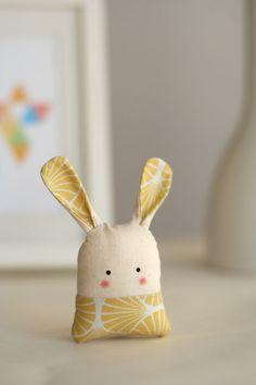 "Glücksbringer Hase ""Mio"" // Lucky charm bunny ""Mio"" by enFant design via http://DaWanda.com"