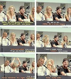Oliver are you going to be a billionaire again? - Stephen & Emily #Stemily…