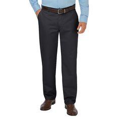 Men's Dickies Relaxed-Fit Khaki Dress Pants, Size: