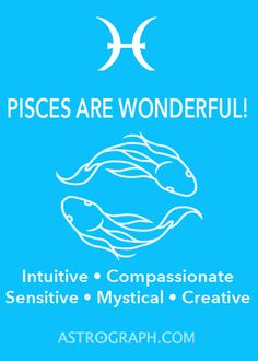 ♓♓♓ #PISCES #PiscesSeason #Astrology   Pin this to your own astrology boards!!  Follow us on Facebook:  https://www.facebook.com/AstroGraph ASTROGRAPH.COM