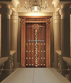Treasure door,Size: 250x135 cm,Description:Single Door, with engraved copper,available at any type of wood,For more products and information please visit us at: www.windandwave-eg.com and contact us at: info@windandwave-eg.com
