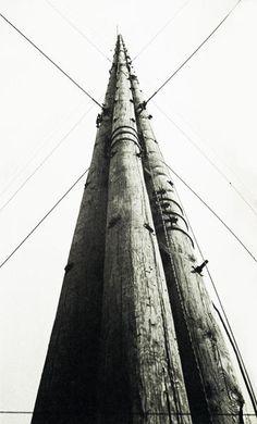 Aleksandr Rodchenko Radio Station Power 1929 Lent by Jack Kirkland Collection, Nottingham © A. Rodchenko & V. Alexander Rodchenko, Bauhaus, Otto Steinert, Street Photography, Art Photography, Russian Constructivism, British Journal Of Photography, Global Art, Photomontage
