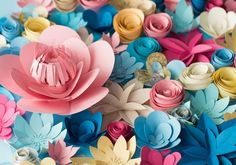 Make your own DIY paper flowers so you can embellish a wreath, create a centerpiece, or even decorate a cake.