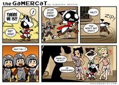 Check out the comic the GaMERCaT :: Master of Disguise
