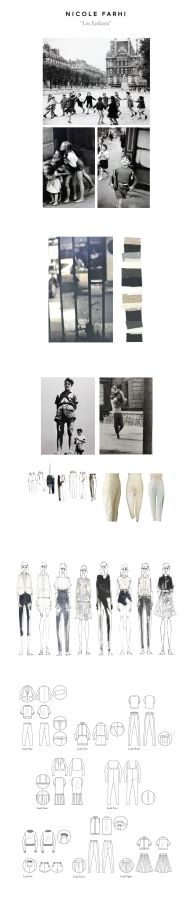 NICOLE FARHI - Les Enfants - BFC Project Design Work