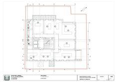 L.S.G. HEad Office Building,Plan